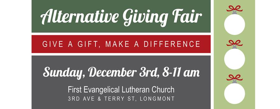 Alternative Giving Fair