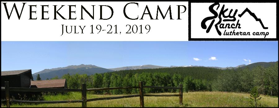 Weekend Camp!